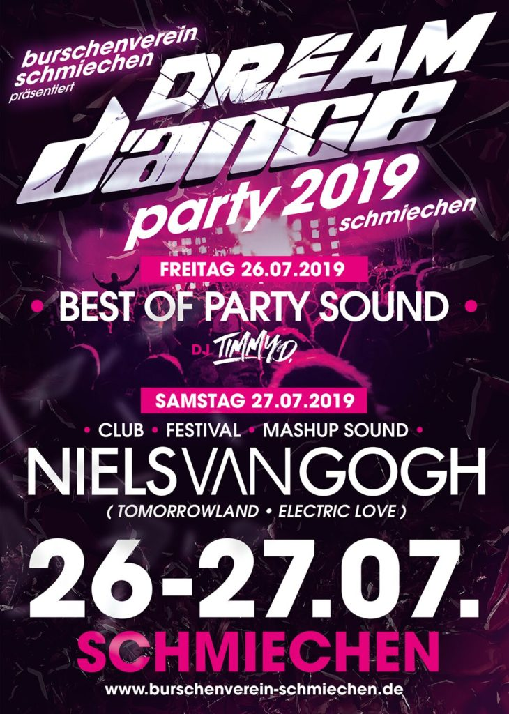 DREAM DANCE PARTY 2019
